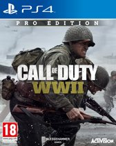 Cover van de game Call Of Duty: WWII Pro Edition - PS4