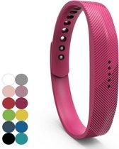 REBL Siliconen bandje - Fitbit Flex 2 - Roze