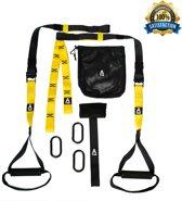 A-FTNSS Suspension Trainer - Set - Zwart/Geel - (TRX Kwaliteit)