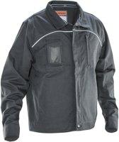 Jobman 1321 Service Jacket Donkergrijs maat XXL