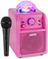 Afbeelding van Vonyx SBS50P karaoke set met Bluetooth, echo en microfoon speelgoed