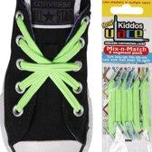 U-Lace Elastische Veters voor Kids - Bright Green