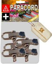 Paracord Karabijn Sluitingen - Special Collection (5 Stuks)
