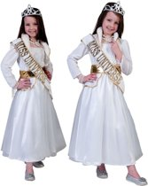 Kostuum Miss Universe - Verkleedkleding - Maat 104