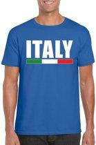 Blauw Italy/ Italie supporter shirt heren XL