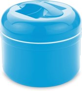 Valira Thermo Voedsel Container 2,5l - Blauw - Met Extra Inzet