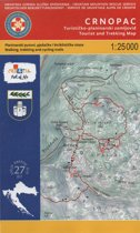 nr. 27 Crnopac 1:25.000 Wandelkaart Kroatie kaart