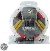 Kabelset ESX SX25WK tbv aansluiten versterker 25mm2