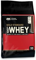 Optimum Nutrition 100% Whey Protein - Eiwitpoeder / Eiwitshake - 4540 gram - Double Rich Chocolate