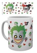 Batman Dc Comics Emoji Harley And Joker Mok