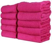 Hotel Handdoek – Roze - Set van 3 Stuks - 70x140 cm - Heerlijk zachte badhanddoeken