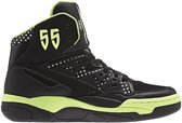 Sneakers Mutombo EF High Top dames zwart lime mt 38