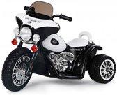 Elektrische Harley Politiemotor look 6v zwart