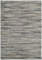 Modern tapijt motief in diverse grijstinten - 160 x 230 cm