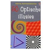 Usborne Activiteiten Kaarten - 50 Optische Illusies