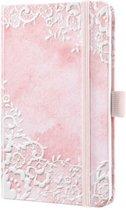 Sigel SI-J0308 Weekagenda Jolie Beauty A6 2020 Hardcover Rose Dreams