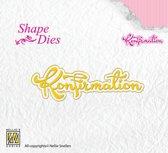 Shape Dies - Text Korfirmation