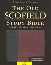 The Old Scofield (R) Study Bible, KJV, Pocket Edition, Basketweave Black/Burgundy