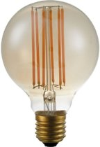 SPL LED Filament Globe GOLD 80mm - 6,5W DIMBAAR