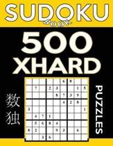 Sudoku Book 500 Extra Hard Puzzles