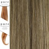 Pure Clip in Remy Hair Extentions 45 cm Colour P14/24