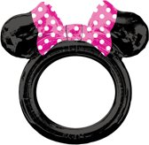 Selfie Frame Minnie Mouse Foil Balloon S70 Packaged