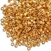 Miyuki Delica (11/0 mm) Gold Plated (10 Gram)