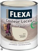 Flexa Couleur Locale Zijdeglans Watergedragen Nepal 0,75 L 5515 Accent Nepal