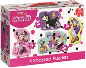 Disney Junior Minnie Mouse 4in1 Vormen Puzzel