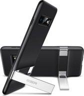 Samsung Galaxy S10 - ESR Military Grade gecertificeerd hoesje met standaard, extreem sterk & duurzaam materiaal – Simplace – ZWART