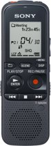 Sony ICD-PX333M - Digitale Voicerecorder - 4 GB - Zwart