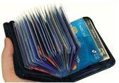 Safe Wallet - Pasjes Houder 36 pasjes - RFID Blokking