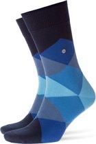 Burlington Clyde Heren Sokken - Blauw - Maat 40/46
