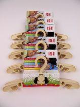 ISI Mini - kledinghangers 25 stuks ecru