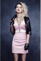 Rock zangeres kostuum voor vrouwen - Volwassenen kostuums
