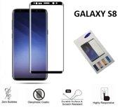 3D Glass screenprotector voor de Samsung Galaxy S8