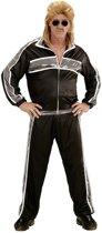 Aso & Biker & New Kids Kostuum   New Kids Trainingspak Zwart   Man   Small   Carnaval kostuum   Verkleedkleding