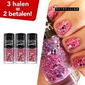 Maybelline Color Show Nagellak All Access - 424 Lover - 3 Halen = 2 Betalen!