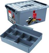 Q-line Schoenpoetsbox 15L met inzet