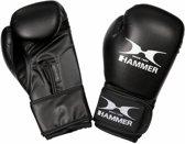 Hammer Children´s bokshandschoenen Blitz, PU, zwart, velcro, 8 OZ