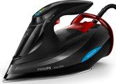 Philips Azur Elite GC5037/80 - Stoomstrijkijzer - Zwart/ rood