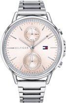 Tommy Hilfiger TH1781917 horloge dames - zilver - edelstaal