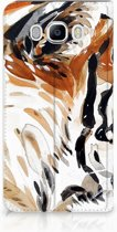Samsung Galaxy J7 2016 Uniek Standcase Hoesje Watercolor Tiger