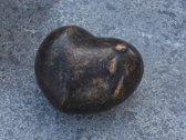 Grafdecoratie - urn - bronzen beeld - Hart - Bronzartes