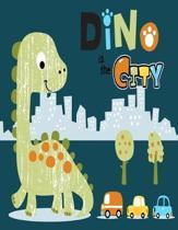 Dino in the city