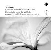 Telemann: Overtures & Concertos / Bruggen, Vester, Leonhardt et al
