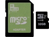 BeHello Micro SDHC Class 10 With Adapter 32GB
