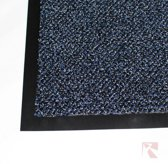 Droogloopmat vloermat - 130 x 200 cm - donkerblauw