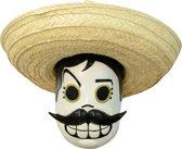 Día de los Muertos masker voor volwassenen - Verkleedmasker - One size