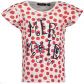 Blue Seven Meisjes T-shirt - rood - Maat 128